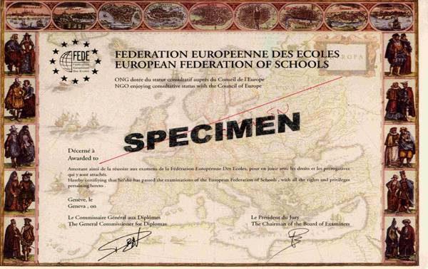 diplomes specim - MIAGE membre de la FEDE
