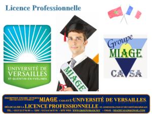 Licence Professionnelle Française en Administration et Sécurité des Réseaux (ASUR) - Université de Versailles -
