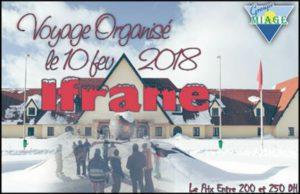 MIAGE Casa - Excursion pour la neige et le silence de la région d'Ifrane