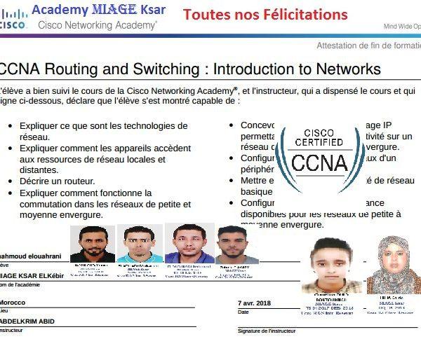Academy-Cisco-Miage-Ksar-El-kebir-inf-avril-2018