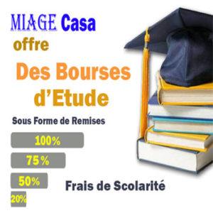 Offre de Bourses d'Etude par MIAGE Casa