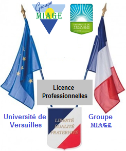 Groupe MIAGE et Université de Versailles