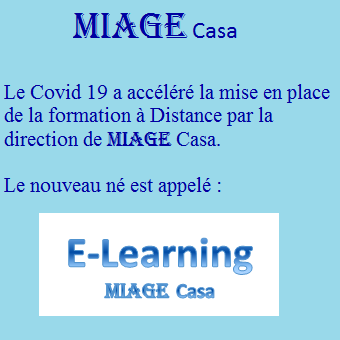 E-learning MIAGE Casa