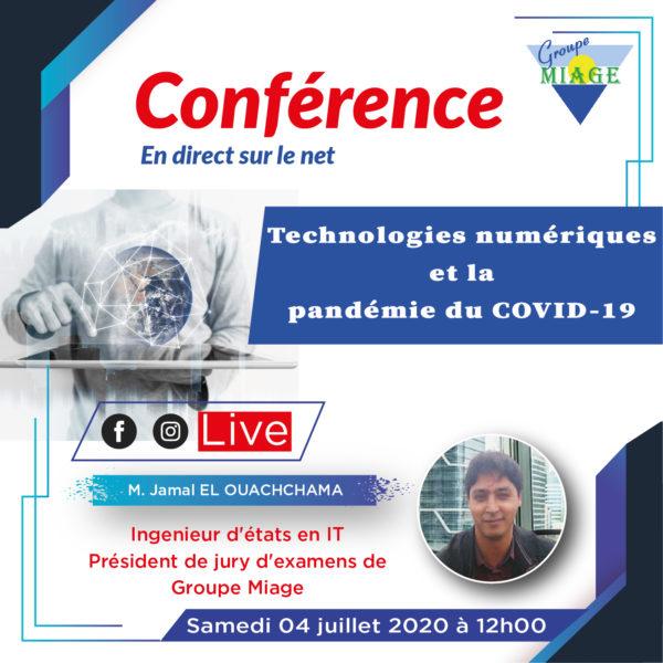 Conférence en-direct - Impact IT_Covid-19