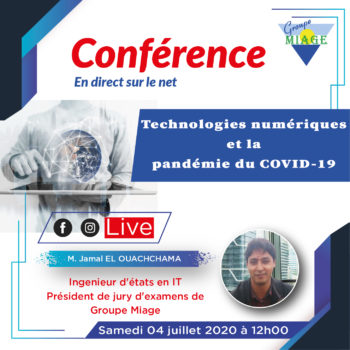 Conférence en-direct - Impact IT_Covid-19